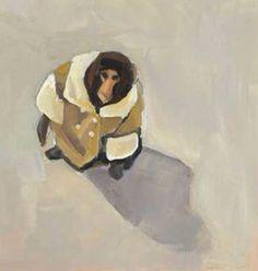Monkey wearing a winter coat art