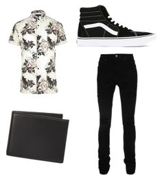 """Sophrosynia 6"" by gryffashionor on Polyvore featuring River Island, AMIRI, The Men's Store, Vans, men's fashion and menswear"