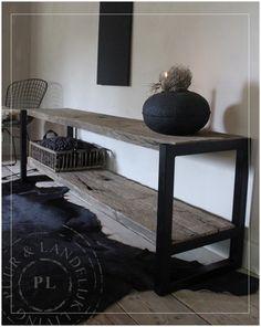 Maatwerk / landelijk tv meubel JEWEL / eiken