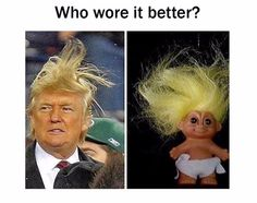 The diaper or the hair?—RP