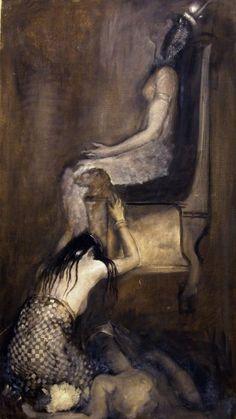 Edwin Austin Abbey - Study for Antony and Cleopatra    http://ecatalogue.art.yale.edu/results.htm?ksrch=Edwin%20Austin%20Abbey=0=25=objectNumber=0=1