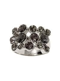 Silver screen scatter ring  (Banana Republic - Anna K)