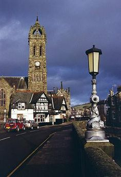 Town Impressions | Royal Burgh of Peebles.  Peebles Parish Church