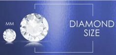 How many carats in your diamonds.  Use this simple chart to find out