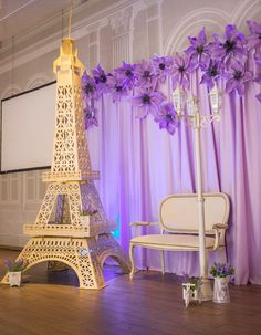 Simple Princess Quinceanera Party Decor Plans - The Options - Happier Every Day Paris Quinceanera Theme, Paris Prom Theme, Paris Themed Birthday Party, Quinceanera Decorations, Quinceanera Party, Birthday Party Themes, Spa Birthday, Eiffel Tower Centerpiece, Eiffel Tower Cake