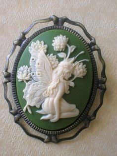 beautiful fairy cameo- love it!