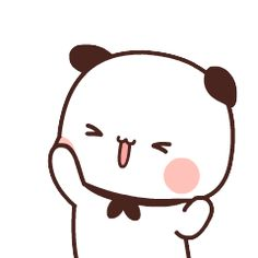 Cute Panda Cartoon, Cute Anime Cat, Funny Cartoon Gifs, Cute Cartoon Characters, Cute Cartoon Pictures, Cute Love Pictures, Cute Love Cartoons, Cute Anime Chibi, Cute Cartoon Wallpapers