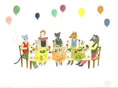 five friends by Aiko Fukawa http://faikorecent.tumblr.com/post/44066469178
