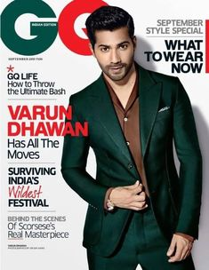 2015 was the year Varun Dhawan suited up and stripped down for GQ India and Stardust photoshoots respectively, and we were equally grateful for both of them. | 14 Indian Magazines That Made Us Damn Thirsty In 2015