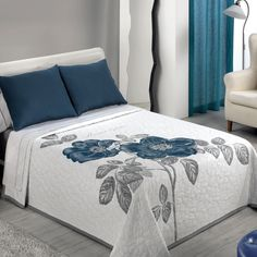 Best Gorgeous Bedsheet Cover Images – Die Architektur-Designs - My CMS Duvet Bedding, Comforter Sets, Bed Cover Design, Designer Bed Sheets, Bed Runner, Home And Deco, Bed Covers, Pillow Covers, Home Textile