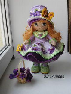 Amigurumi doll softies crochet free patterns by lumi papillon en papier Knitted Dolls, Felt Dolls, Crochet Dolls, Crochet Baby, Crochet Doll Pattern, Crochet Patterns Amigurumi, Amigurumi Doll, Stuffed Toys Patterns, Handmade Toys
