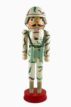 """14"""" Camouflaged United States Army Soldier Christmas Nutcracker by CC Christmas Decor, http://www.amazon.com/dp/B009MQPO5Y/ref=cm_sw_r_pi_dp_A6S9rb06P4C51"""