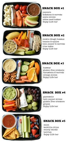 - These Kids Snack Bento Boxes are the perfect answer for every busy mom who wants to feed their kids healthy snacks but are short on time. These Kids Snack Bento Boxes are the perfect answer for every busy mom who wants to feed their kids healthy snacks Lunch Snacks, Lunch Recipes, Kids Healthy Lunches, Healthy Food Prep, Snacks For Work, Snack Boxes Healthy, Lunch Ideas Work, Healthy Snack Recipes, Healthy Options