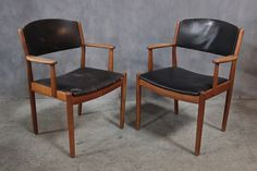 ARNE VODDER DINING CHAIRS (6) – BD Antiques