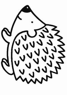 ausmalbild tiere: igel zum ausmalen kostenlos ausdrucken