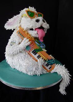 La tarta de Falcor, el perro de la película de la Historia Interminable! #comida #cocina #gastro #gastronomia #paratorpes #dulces #postres #tartas #historiainterminable #falcor