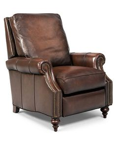 hooker madigan leather recliner chairs furniture macyu0027s - Recliner Chair