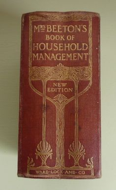 Mrs Beeton Cookery Books - a bit beyond the Georgian era, but a classic