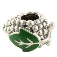 Green Grape Cluster Charm Fit Pandora