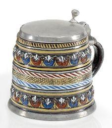 Keramik: Walzenkrug. .