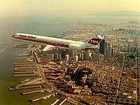 Photo ID: 0001057 Views: 154249 Trans World Airlines - TWA McDonnell Douglas MD-82 (DC-9-82) (N902TW) shot at In Flight USA - California Early 1980's By The Douglas Aircraft Company (Jammy Lee)