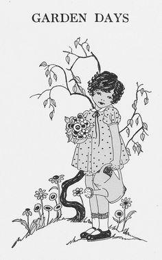 Garden Days by katinthecupboard, via Flickr