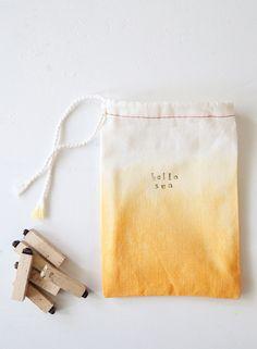 """DIY """"Hello Sun"""" Bags"""