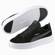 puma smash platform sd sneakers basses femme