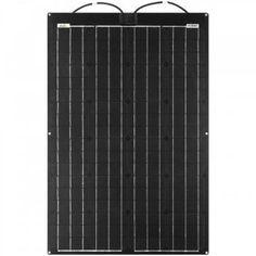 100W 36V Semiflexibles Solarmodul Fiberglas PCB-ETFE Wind Power, Solar Power, V Max, Bike Trailer, Vw Bus, Larry, Skyscraper, Camper, California
