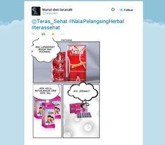 April Blast Naia on Twitter.. Yuk yang lain ikutan yuk.. Banyak hadiah menanti sahabat teras nih.. #terassehat  #naiaslimming  #meme