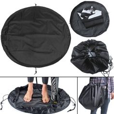 """IPReeâ""""¢ 50CM Surfing Diving Wetsuit Change Bag Mat Waterproof Nylon Carry  Pack Pouch For 9d876f07a95f0"""