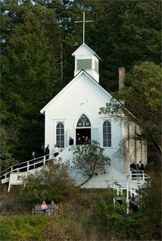 Our Lady of Good Voyage Chapel  Historic Chapel- Roche Harbor, WA
