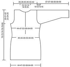 "Campfire - DROPS Bluse med hætte i ""Eskimo"". Str S - XXXL. - Free pattern by DROPS Design"
