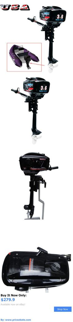 boat parts: Outboard Motor Boat Engine With Water Cooling System 3.6 Hp Two 2 Stroke Usa BUY IT NOW ONLY: $279.9 #priceabateboatparts OR #priceabate