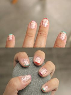 pretty designs on this mani