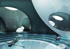 Liepaja Thermal Bath / Steven Christensen Architecture; Liepaja, Latvia