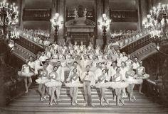 le Corps de Ballet de l'Opéra en 1957