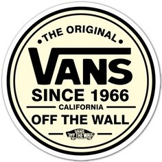 Autocollants: The Original Vans