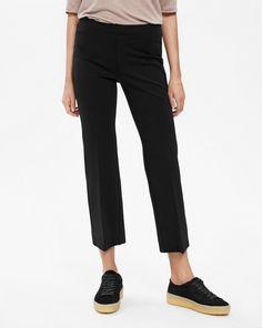 Poe Cropped Jersey Pant Black, Filippa K 1200 SEK