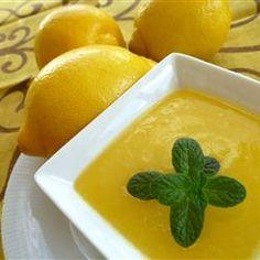 Lemon Curd Allrecipes.com
