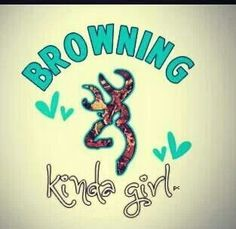 browning kinda girl. ✌️