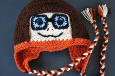 Velma Inspired Custom Crochet Hat! http://www.etsy.com/shop/SweetSomethingsbyAsh