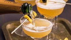 Don't just pop the bottle. Mix up your bubbly and make the perfect sparkling drink.