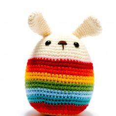 Chunky Crochet Roly Poly Bunny