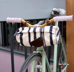 New-Age Bike Baskets: Alexandra Cassaniti's Bicycle Bags Are Fashionably Handy