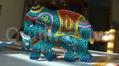 Quilled elephant :) ...meet Angie :)