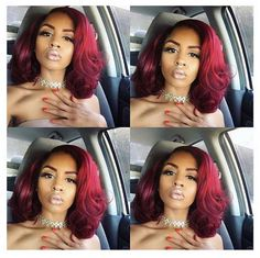 #hairinspiration #redhair #inspiration  Loving this flawlessly flowing hairstyle…