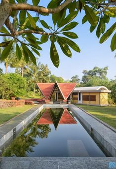 Farm House In Mumbai Responds To Its Context And Ecology | The Vrindavan Project - The Architects Diary