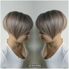 All sizes | Smokey Tones with Metallics and BlondeMe : I lifted Lindsey's @lndsyhgrt hair with Oyster creme lightener. Shadow root with Schwarzkopf Igora Royal Metallics 8-29 and 9-18 then ends are BlondeMe toners Steel Blue and Lilac with Olaplex. I finished by tou | Flickr - Photo Sharing!