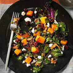10 Healthy Squash Recipes: Kale and Butternut Squash Saute